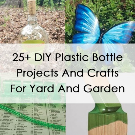 DIY Plastic Bottle Projects And Crafts For Yard And Garden