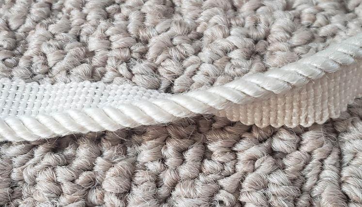 Diy Stair Carpet Remnant Treads Lip Cord