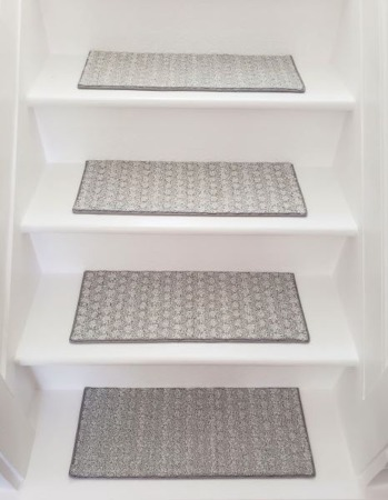 DIY How To Make Your Own Carpet Stair Treads
