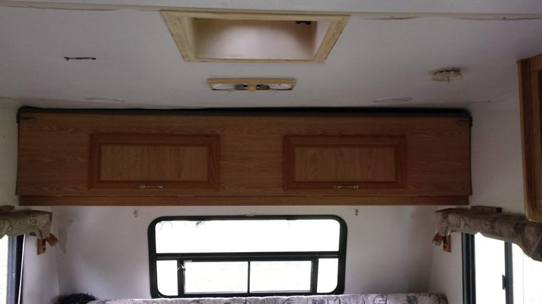 Camper Roof Before Full View