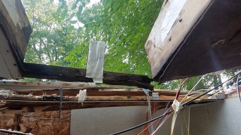 Camper Roof Demolition Labels