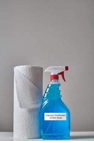 Diy Isopropyl Disinfectant Surface Spray
