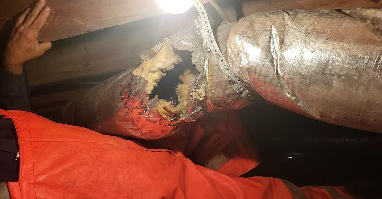 Hvac Duct Repair Hole