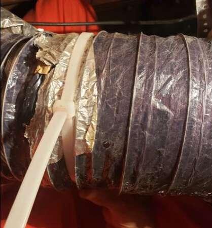 Hvac Duct Repair Semi Rigid Inserted Tie Strap