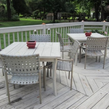 DIY Patio Tables