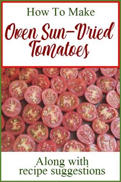 Pinterest Sun Dried Tomatoes