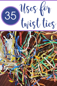 Pinterest Twist Ties