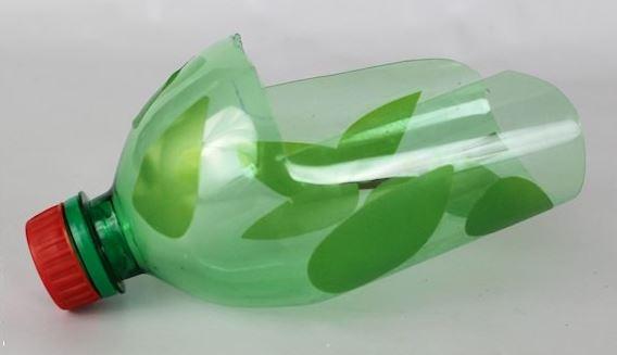 Plastic Bottle Birdseed Scoop