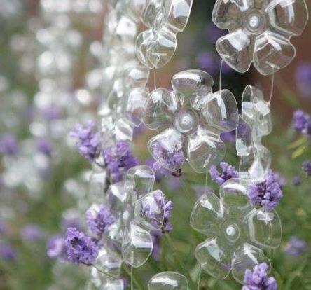 Plastic Bottle Flower Curtain