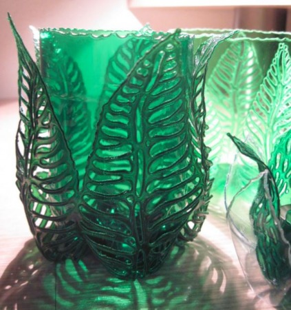 Plastic Bottle Leaf Planter Sleeve