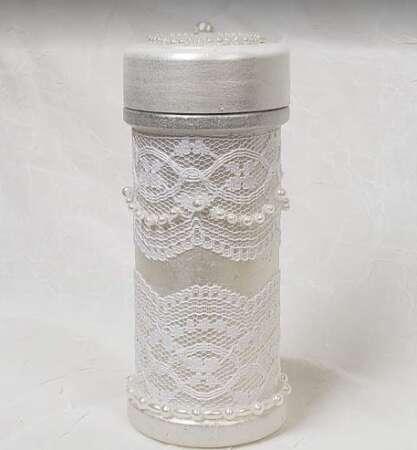 Spice Jar Lace Pearls