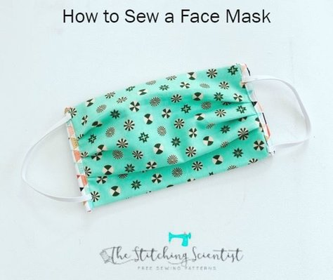 Stitching Scientist Face Mask