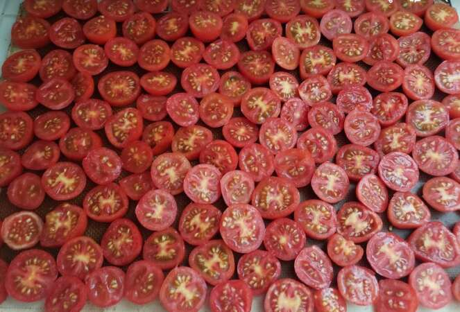 Sun Dried Oven Tomatoes Sliced Cookie Sheet