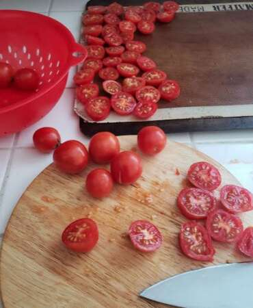 Sun Dried Oven Tomatoes Slicing